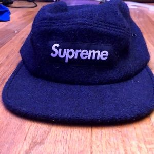 Wool supreme camp cap